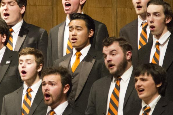 Orange and Black Vocal Concert at Oregon State University