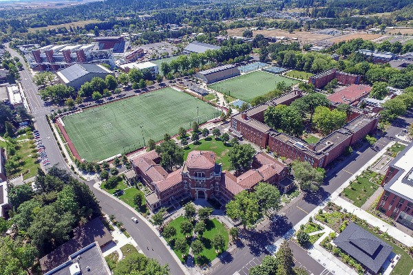 Oregon State University in Corvallis, Oregon