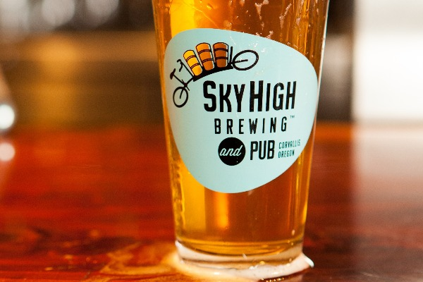 Sky High Brewing in Corvallis, Oregon